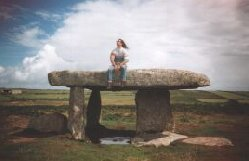 Burnsie at Lanyon Quoit